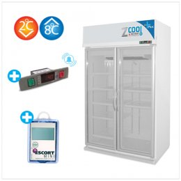 Z-Cool 2-8°C, Refrigerator 2 door with Alarm & Intelligent
