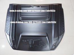 สกู๊ปฝากระโปรงหน้าแบบใหญ่ตรงรุ่นดำด้าน Ford Ranger All New 2012-17 Rapter