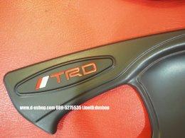 เบ้ามือเปิดประตูดำด้าน TRD สำหรับ Toyota REVO 2015-16 รุ่น2ประตู