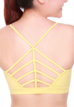 Creamy Way Bra - Yellow
