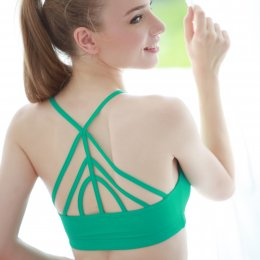 Milky Way Bra - Green