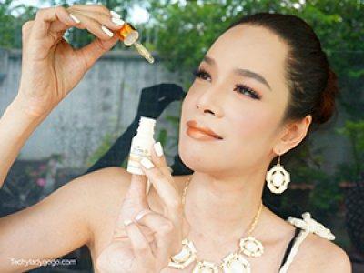 รีวิว : Diana Plus Perfect Gold Wrinkle Repair Serum เซรั่มทองคำลดเลือนริ้วรอย หาซื้อง่ายในเซเว่น โดย TechyLadyGogo