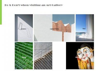 Do's & Don'ts when visiting an Art Gallery