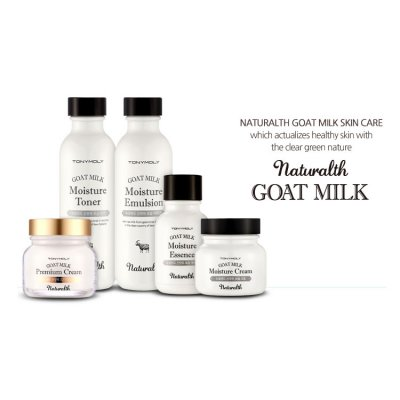 Tony Moly Goat milk skincare for Healthy and Beauty skin