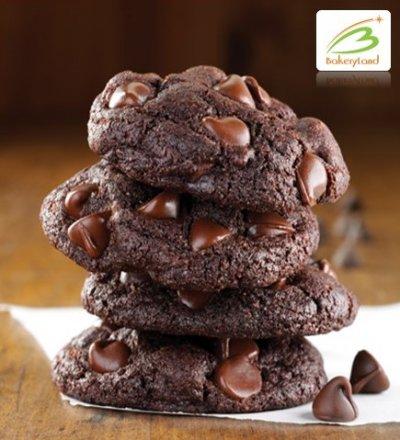 ดับเบิ้ลช็อกโกแลตชิพคุ้กกี้ (Double Chocolate Chip Soft Cookies)