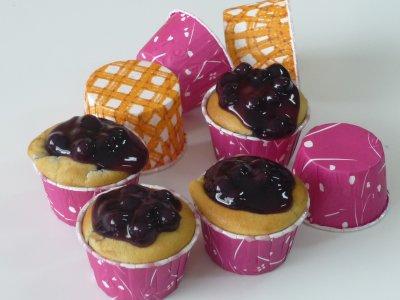 บลูเบอร์รีมัฟฟิน (Blueberry Muffin)