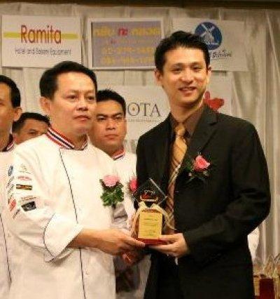 Award from Thai Bakery Association