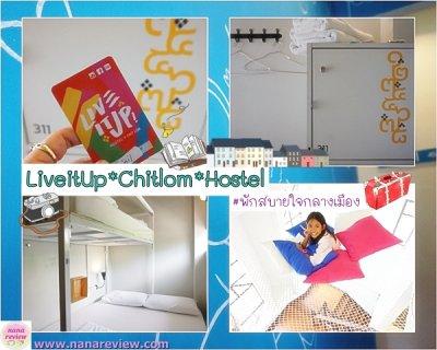 LiveItUp Chitlom Hostel