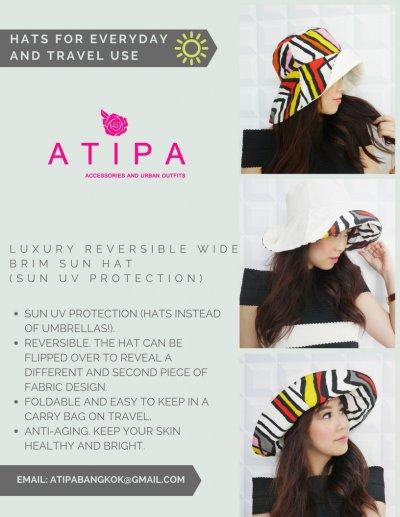 หมวก ATIPA ปีกใหญ่กันแดด ดีอย่างไร :)