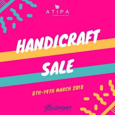 Bluport Handicraft Sale  8-14 มีนาคม 2561