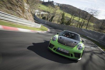 Porsche 911 GT3 RS กับการทำเวลาต่อรอบ 6:56.4 นาที บนเส้นทาง 'Green Hell'