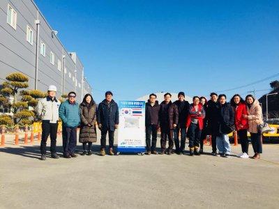 G-Park เชิญตัวแทนจากบริษัทแลนด์แอนด์เฮ้าส์ จำกัด(มหาชน) เยี่ยมชมโรงงานผลิตเครื่องจักรกลจอดรถอัตโนมัติ ของ Dongyang Menics , KOREA