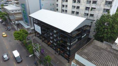 ครบรอบ 4 ปี ของการใช้งานและบำรุงรักษา อาคารจอดรถด้วยเครื่องจักรกลอัตโนมัติ G-07 GPP Puzzle Parking จำนวน 100 คัน อาคารแรกของประเทศไทย รพ.เปาโล เมโมเรียล โชคชัย 4